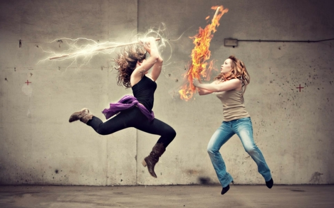 women%20jeans%20fire%20fight%20battles%20lightning%20girls%20with%20swords%20swords%20photomanipulations%201920x1200%20wa_www.wall321.com_45